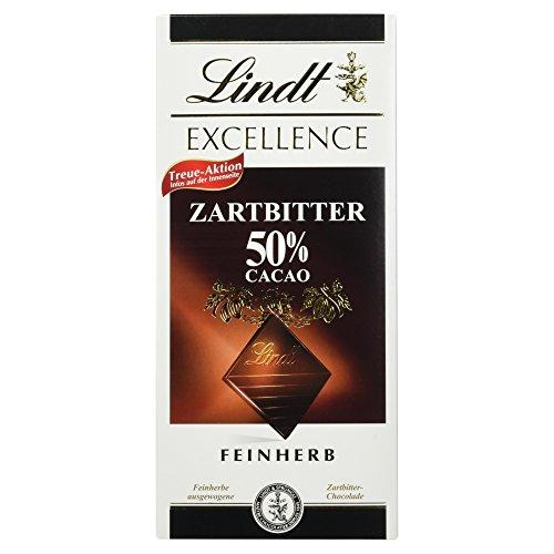 Lindt & Sprüngli Excellence 50 % feinherb, 100 g