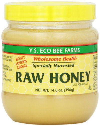 Y.S Eco Bee Farms Raw Honey USA Grade A.-14.0 oz (396 g)