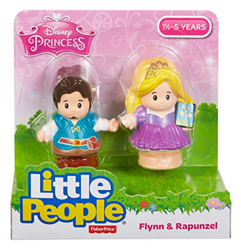 Fisher-Price Little People Disney Rapunzel and Flynn Toy