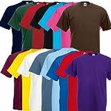 Fruit of the Loom Original Valueweight T Rundhals T-Shirt F140 3er 6er 9er 12er Pack