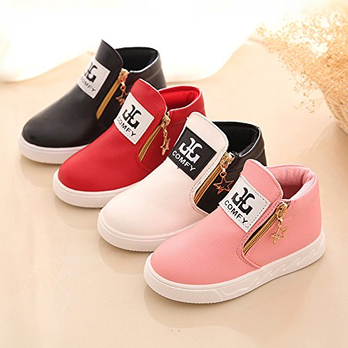 Igemy 1 Paar Kinder Beiläufig Sport Jungen Mädchen Mode Martin Stiefel Sneakers Schuhe
