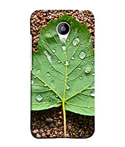 PrintVisa Designer Back Case Cover for Meizu M3 (Environment Reflection Freshness Droplet Abstract Outdoors Beautiful Raindrop)