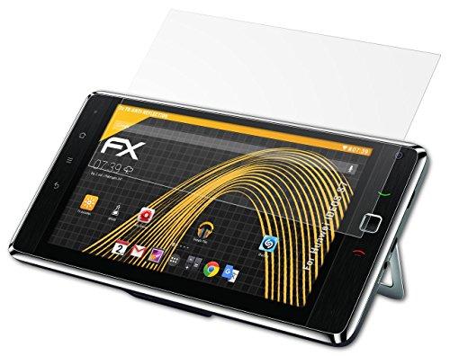 Huawei IDEOS S7 Displayschutzfolie - 2 x atFoliX FX-Antireflex blendfreie Folie Schutzfolie
