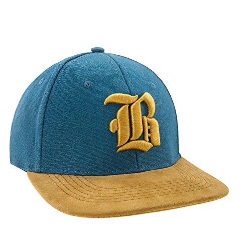 Nouveau Snapback Cap toit en suède Casquette de Baseball Bonnet Cap Chapeau Snap back 3D Gothique B (Yellow B)