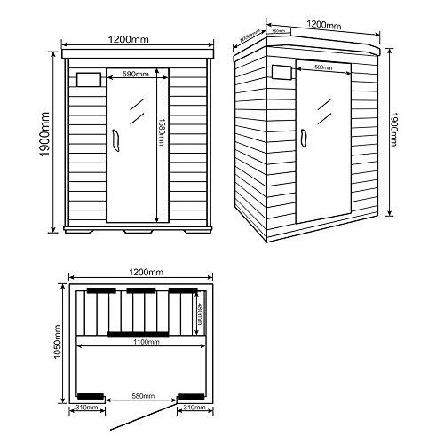 home-deluxe-infrarotkabine-redsun-m-vollspektrumstrahler-holz-hemlocktanne-masse-120-x-105-x-190-cm-inkl-vielen-extras-und-komplettem-zubehoer-4