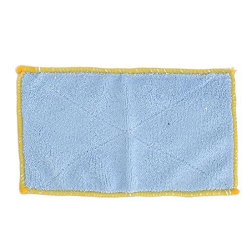 DealMux Mikrofaser Startseite Teller-Schüssel Esstisch Staub-Reinigungs-Tuch-Tuch Waschlappen Blau Rosa -