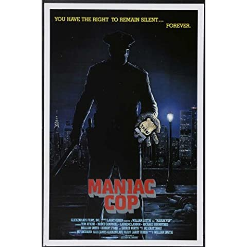 Cop Maniac Poster Film B, 69 x 102 cm