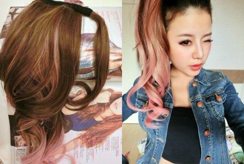 x-y-angel-fashion-due-tono-22-ricci-capelli-highlights-coda-extension-capelli-parrucca-per-le-donne-