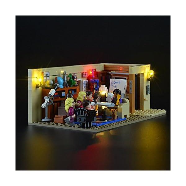 LIGHTAILING Set di Luci per (Ideas The Big Bang Theory) Modello da Costruire - Kit Luce LED Compatibile con Lego 21302… 3 spesavip
