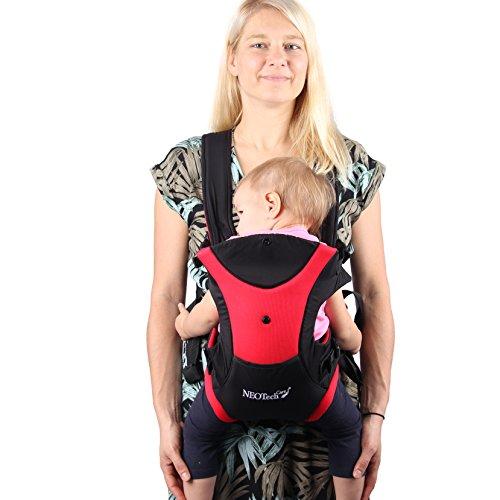 Porte-bébé multiple positions (ventral ou dorsal) de marque Neotech Care -  Ajustable 8b08a28244b