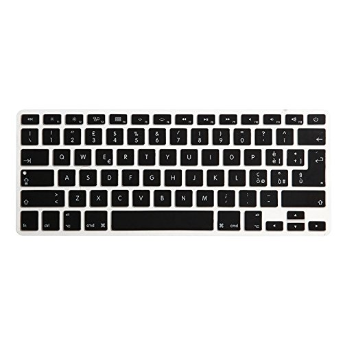 ENKAY Keyboard Protector Cover for Macbook Pro 13. 3 inch & Air 13. 3 inch & Pro 15. 4 inch, US Version and EU Version, Italian