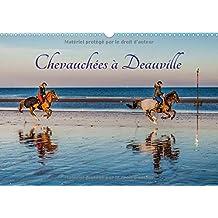 Chevauchees a Deauville 2018: Chevauchees a Deauville En Lever De Soleil Automnal