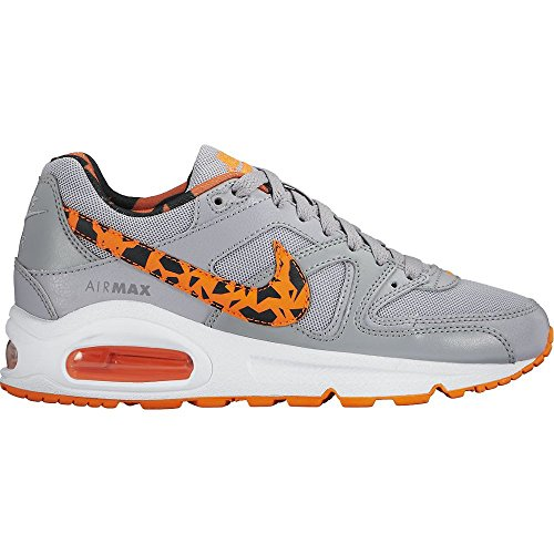 Nike Air Max Command FB (GS) Wolf Grey/Total Orange-White-Black (705391-002) Wolf Grey/Total Orange-White-Black