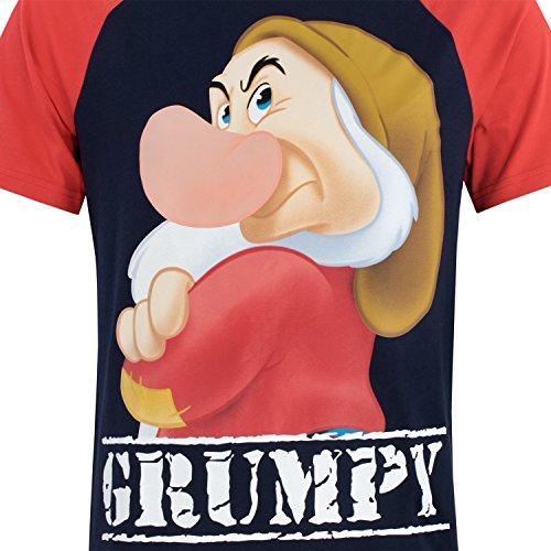 Disney Gruñón - Pijama para Hombre - Grumpy