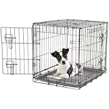 Dogit 2 Door Black Wire Home, Small