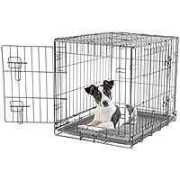 Dogit Cage en métal 2 portes Noir 61 x 45 x 51cm