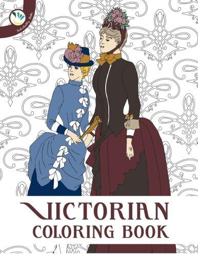 Victorian Fashion Coloring Book