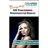 500 verschiedene Wordpress® PHP-Designs von CreaPro. Ideal für Webdesign, Webgrafik, Homepage-Gestaltung und alle kreativen Arbeiten.