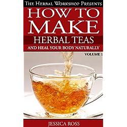 How to make herbal tea recipe book. Herbal teas such as herbal slimming tea, sleep tea,calming tea and more...