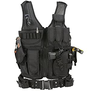 Barbarians Tactical Airsoft Vest Molle Military Paintball