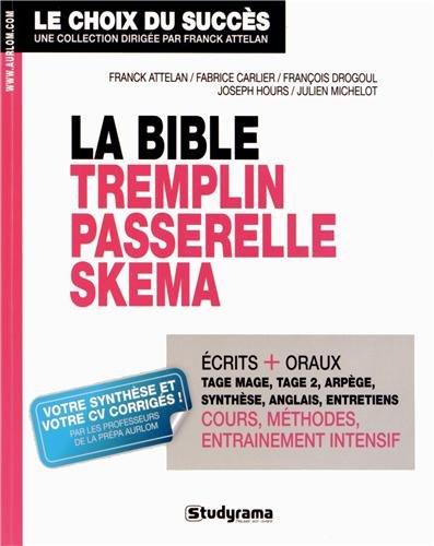 La bible Tremplin Passerelle Skema : Réussir les ...