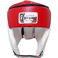 Farabi Head Guard Boxing MMA Muay Thai Workout Practice, Full Face Head guard Head Protector headgear Boxing Head Guard Protector MMA Kickboxing Martial Arts Helmet Taekwondo head gear