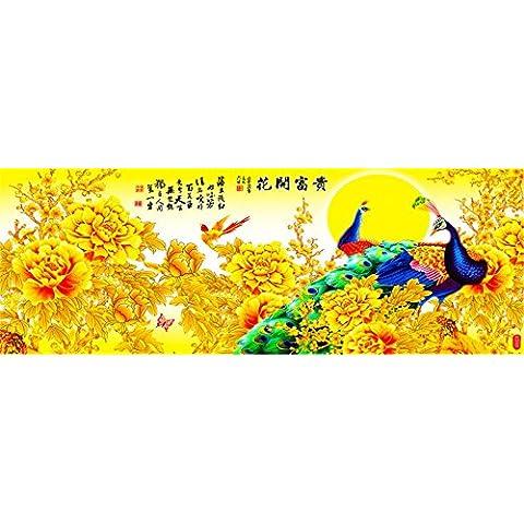 YTG 5d diamante ricamo fiori DIY Pittura