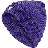 Nouvelles dames en molleton doublé bonnet laineux Thinsulate hiver Beanie femmes Bonneteries