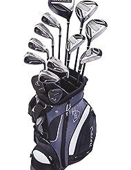 MaxFli Black Max Golf Komplettset Senior RH - 20 Teilig + Standbag