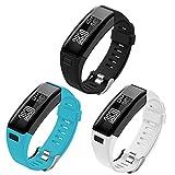 OenFoto Bracelet Compatible de Garmin Vivosmart HR, Remplacement Bracelet Sport...