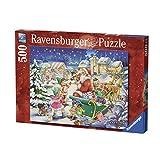 Ravensburger-14740-Puzzle Magia di Noel-500Pezzi