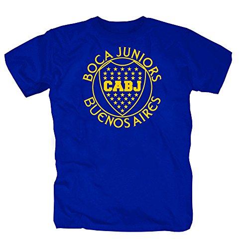 Boca Buenos Aires Camiseta Hombre Azul L