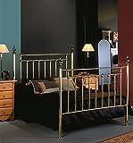 DECORACIÓN BELTRÁN Komplettes Schlafzimmer-Ambiente aus Messing : Modell CHAMBORD 105x190