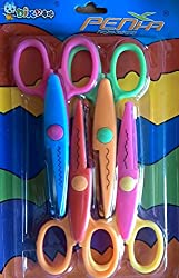 Penha Asianhobbycrafts Art and craft scissor set - 4 design