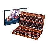 Derwent Coloursoft Crayons de Couleur (Boîte en Bois de 72)