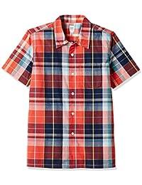GAP Boys Plaid Madras Shirt