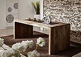 MASSIVMOEBEL24.DE Sheesham massiv Holz Schreibtisch Palisander Möbel Massivmöbel Nature Grey #712