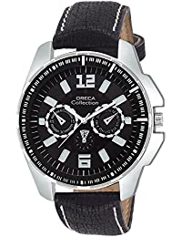 Oreca Analog Black Dial Men's Watch- GT7006