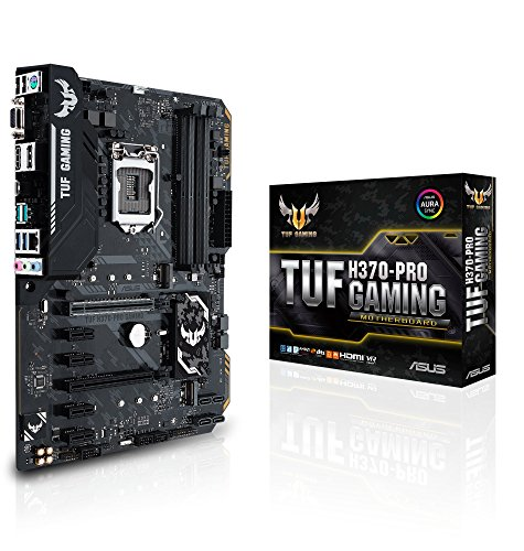 Asus Intel H370 ATX - Placa base gaming Aura Sync