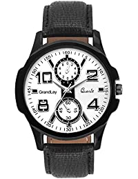 GRANDLAY MG-3068 WHITE DIAL AUTHENTIC WATCH FOR MENZ