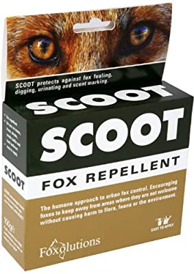 Scoot 50g Fox Repellent Sachets (Pack of 2)
