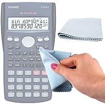 DURAGADGET Gamuza Limpiadora Para Calculadora científica / financiera Casio FX-82ES / Casio FX-83GTPLUS / Helect H1001 / Casio FX-350ES Plus / Casio FC200V - Ideal Para Mantener Su Dispositivo Intacto