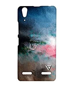 Vogueshell Blurry Colors Printed Symmetry PRO Series Hard Back Case for Lenovo A6000