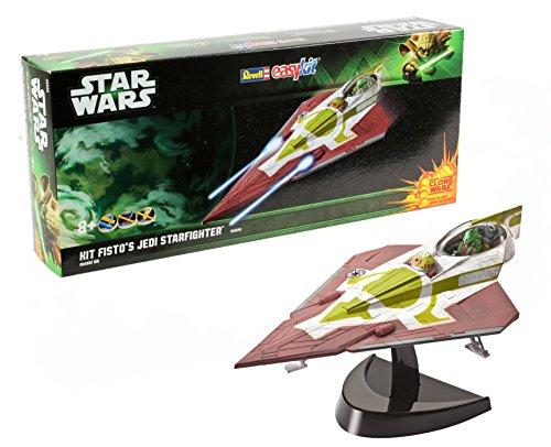 Revell 06688 - Easykit Steckbausatz - Kit Fisto's Jedi Starfighter, Maßstab 1:39