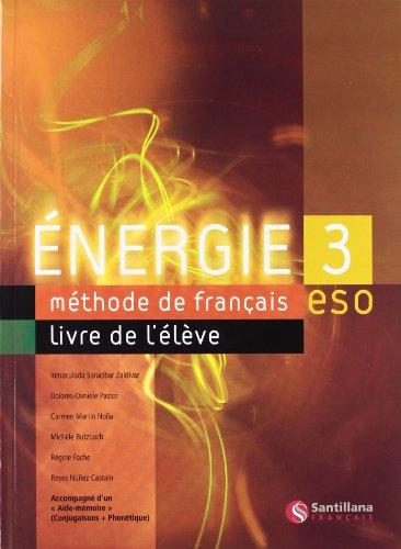 ENERGIE 3 LIVRE D'ELEVE