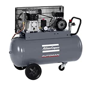 Atlas copco 6250 3638 05 automan compresseur aC20E50M, 230 v, 1,5 kW/11 bar