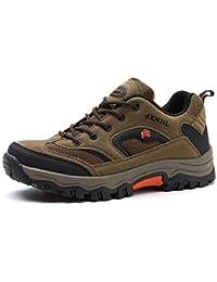 LANSEYAOJI Scarpe da Escursionismo Uomo All aperto Scarpe da Trekking  Basso-Top Arrampicata Sneakers 8681d4b2fc5