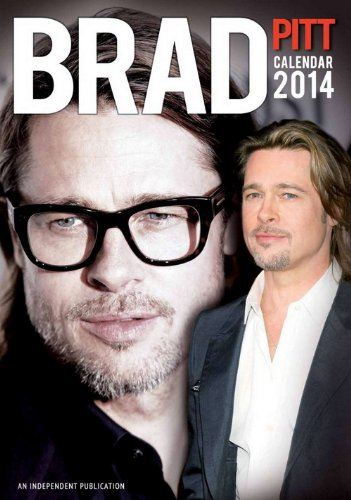 Click for larger image of Brad Pitt 2014 Calendar
