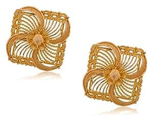 Senco Gold 22k Yellow Gold Stud Earrings
