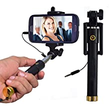 GKP Products Selfie Stick(Battery-Free) with in-Built Remote Shutter.